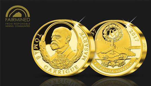 Poptávka po certifikovaném zlatě sílí. Národní Pokladnice vyrazila novou medaili…
