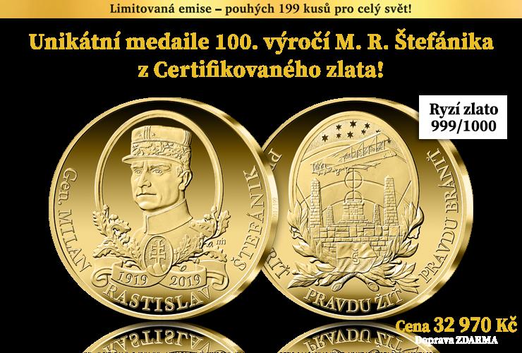 100. výročí Milana Rastislava Štefánika