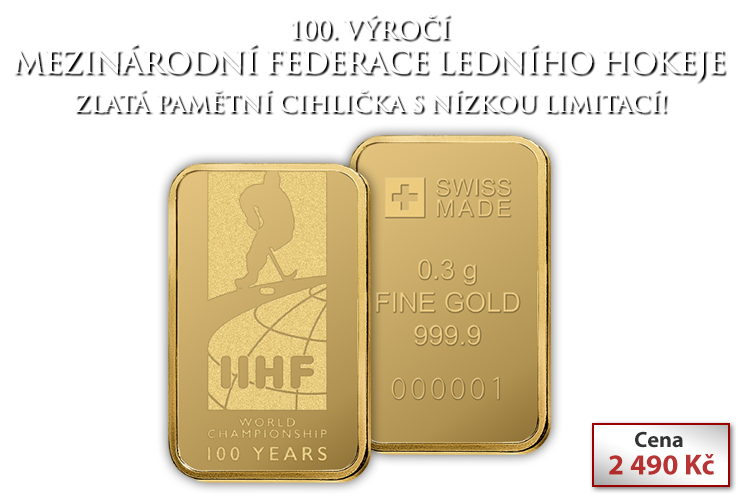 Zlatý ingot 1/100oz