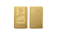 Zlatá IIHF mediale ve tvaru cihličky