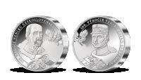 100. výročí vzniku Československa uctěno 5 uncemi ryzího stříbra