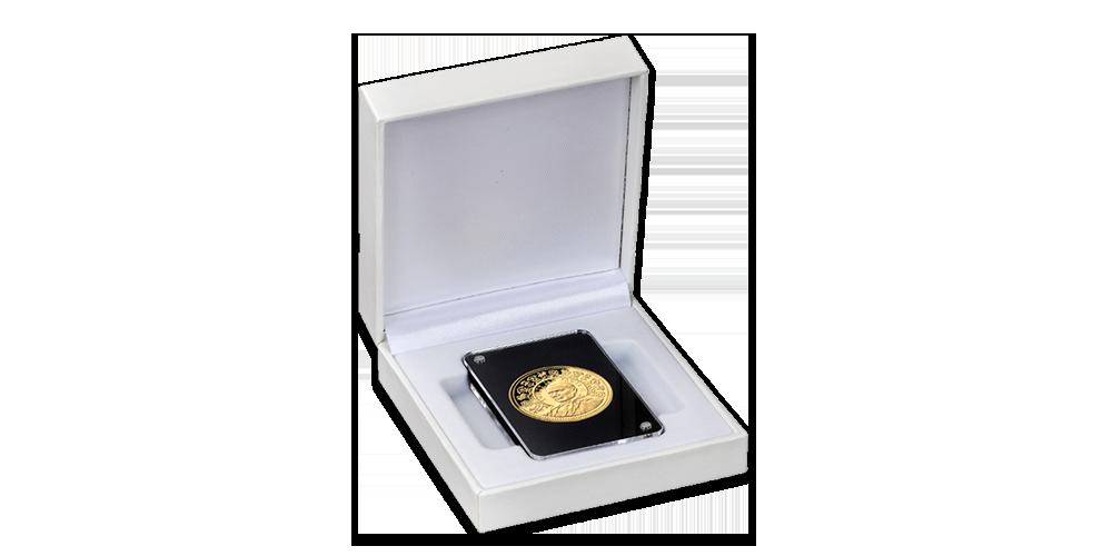 Zlatá medaile 40. výročí návštěvy Irska Janem Pavlem II.
