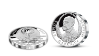 Tomáš Garrigue Masaryk v 5ti uncích stříbra