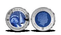 60 let dobývání vesmíru - set titanových mincí