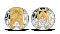 660. výročí Karlova mostu zušlechtěného ryzím zlatem a stříbrem