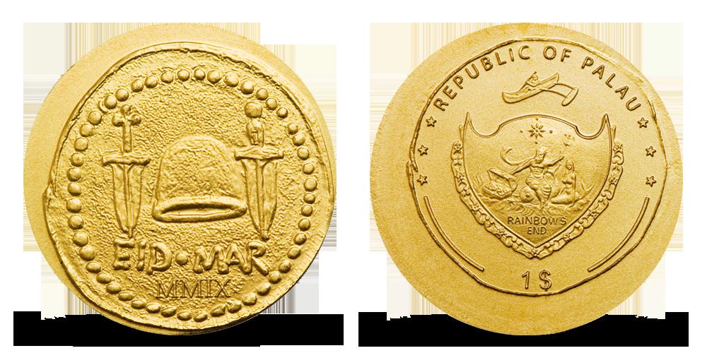 Antický politik Brutus na věrné replice historické mince ze starého Říma