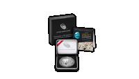 Apollo 11 Stříbrná konkávní mince k 50. výročí přístání na Měsíci