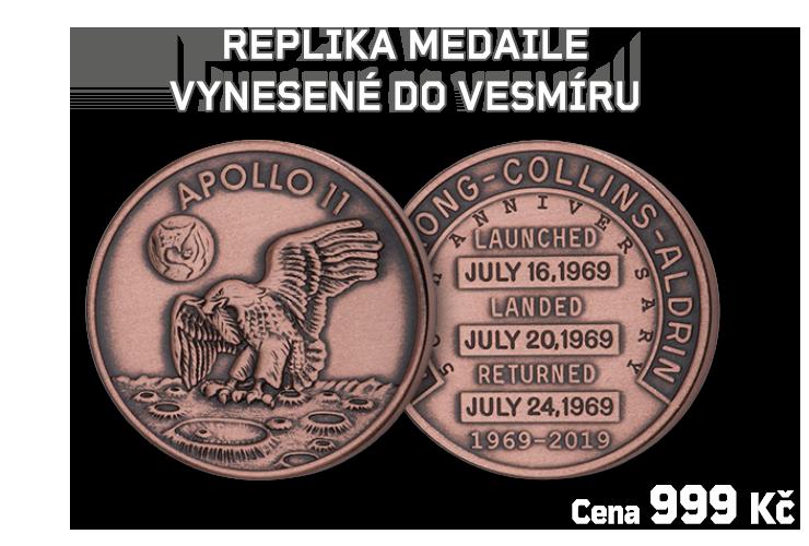 Apollo 11 pamětní medaile