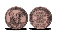 Apollo 11 - pamětní medaile k 50. výročí přístání na Měsíci