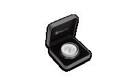 Austrálská stříbrná mince Kookaburra