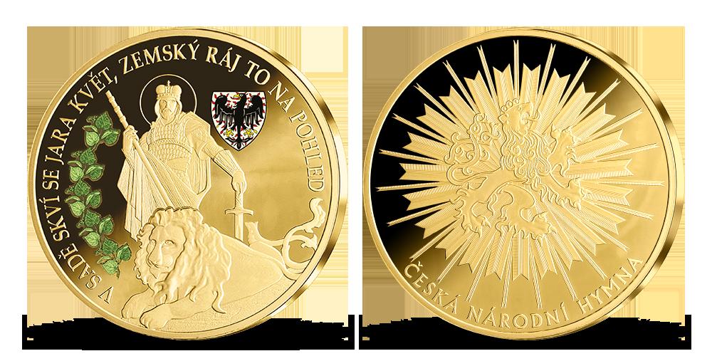 Pamětní medaile oslavující symbol našeho národa