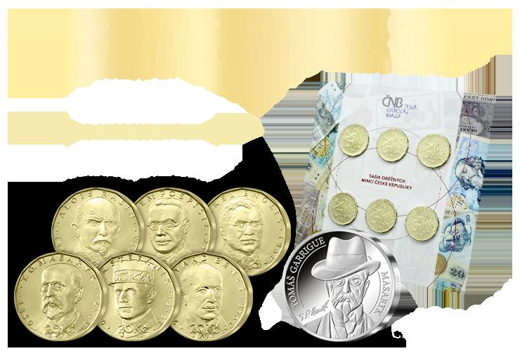 ČNB sada & Ražba dne s T. G. Masarykem