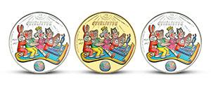 Sada mincí Čtyřlístek & Létající koberec