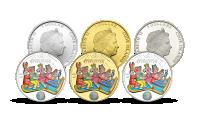 Čtyřlístek a Létající koberec - Legendární komiks na setu tří pamětních mincí.