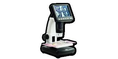 Digitální mikroskop s LCD monitorem DM3 + 4GB micro SD karta