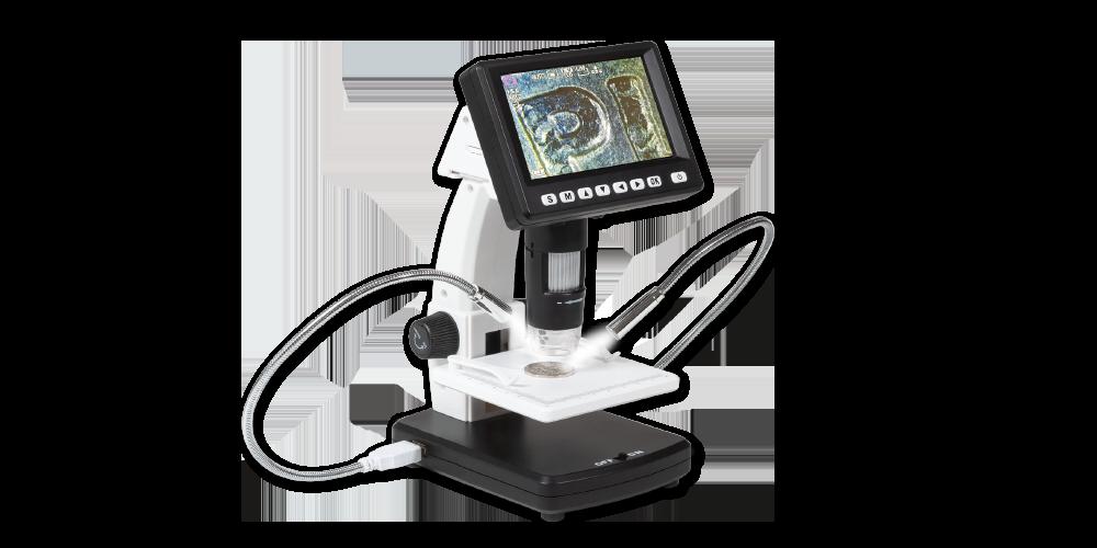 Digitální USB mikroskop DM5 s příslušenstvím