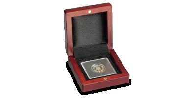 Dřevěný box na jednu minci