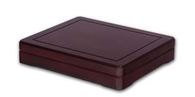 Dřevěný box na mince