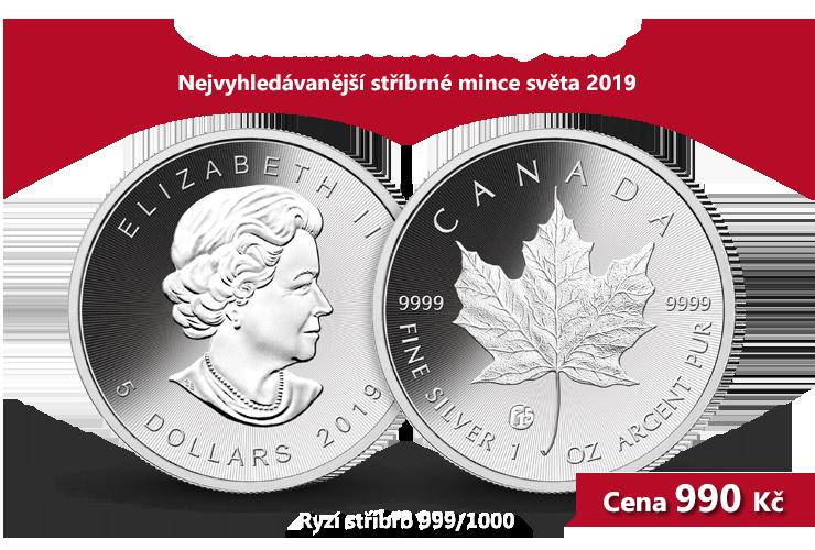 Nejvyhledávanější stříbrné mince světa