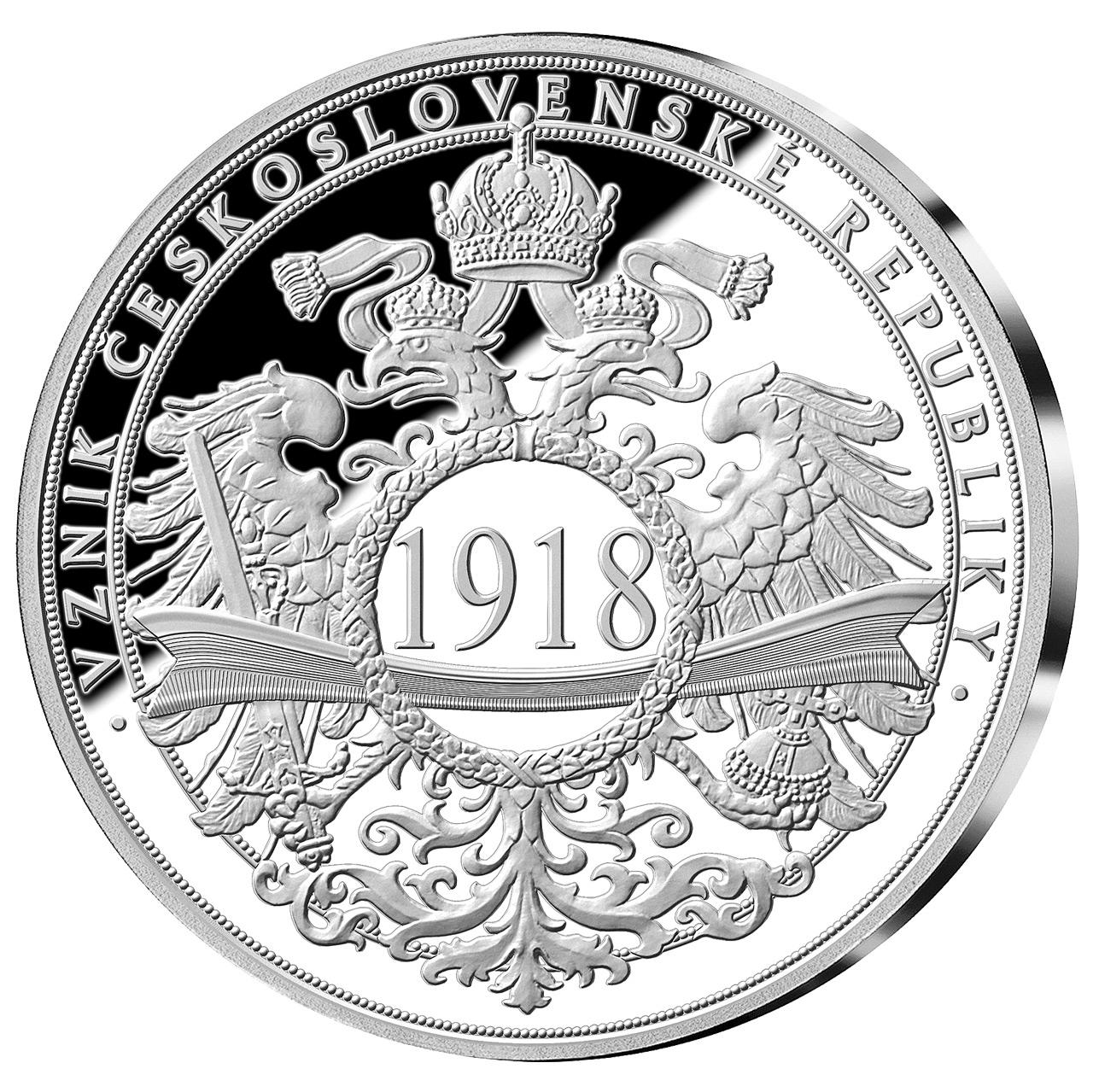 Pamětní medaile Vznik československé republiky