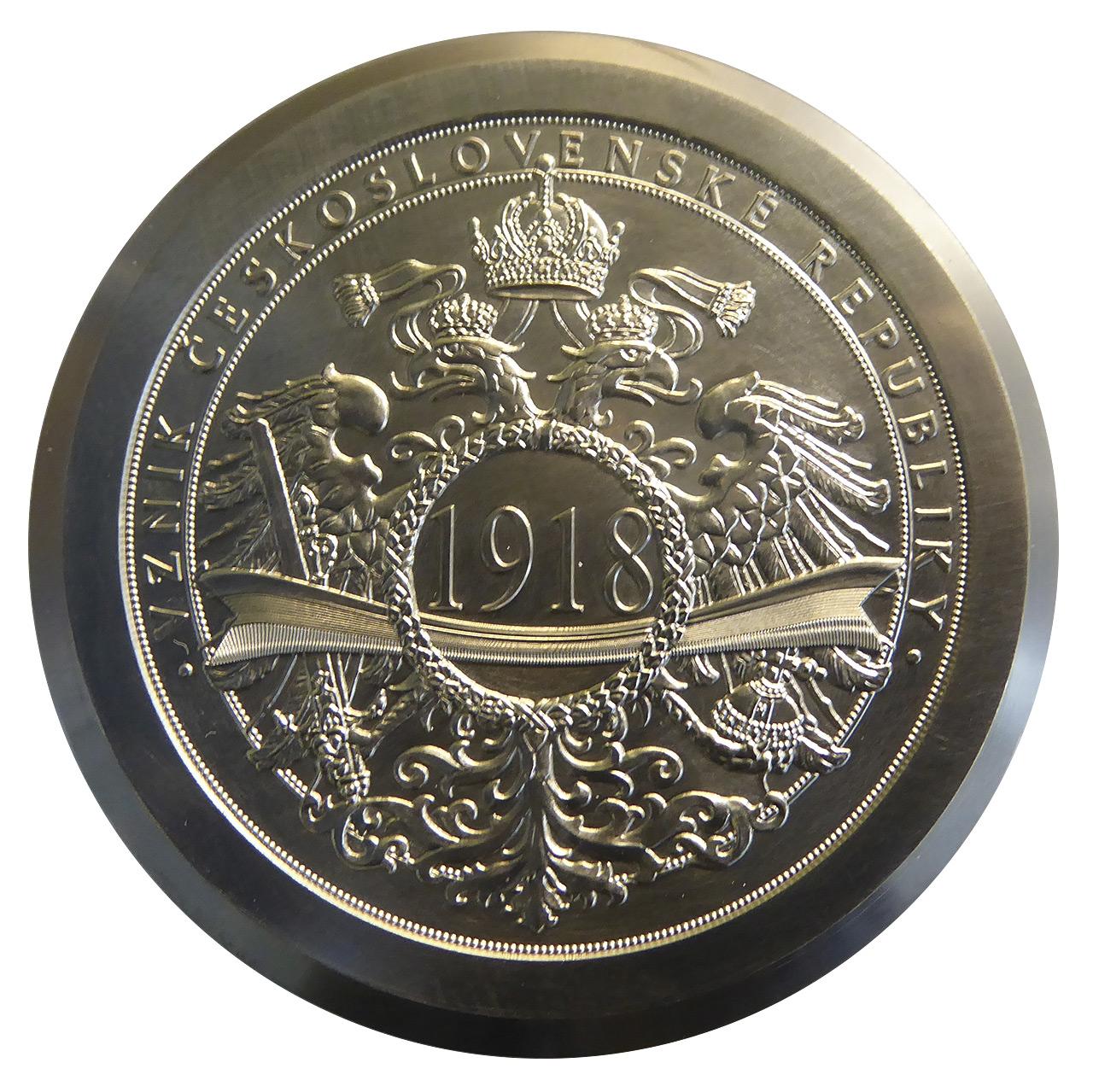 Raznice pamětní medaile Vznik československé republiky