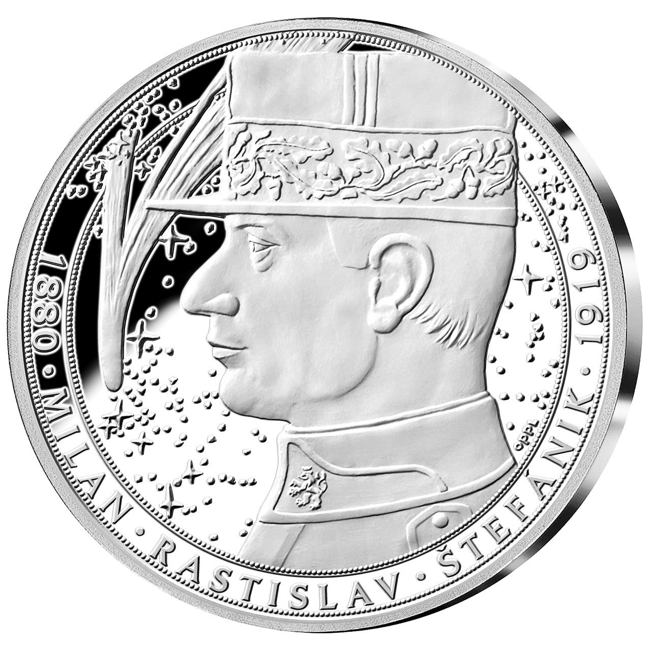 Pamětní medaile Milan Rastislav Štefánik