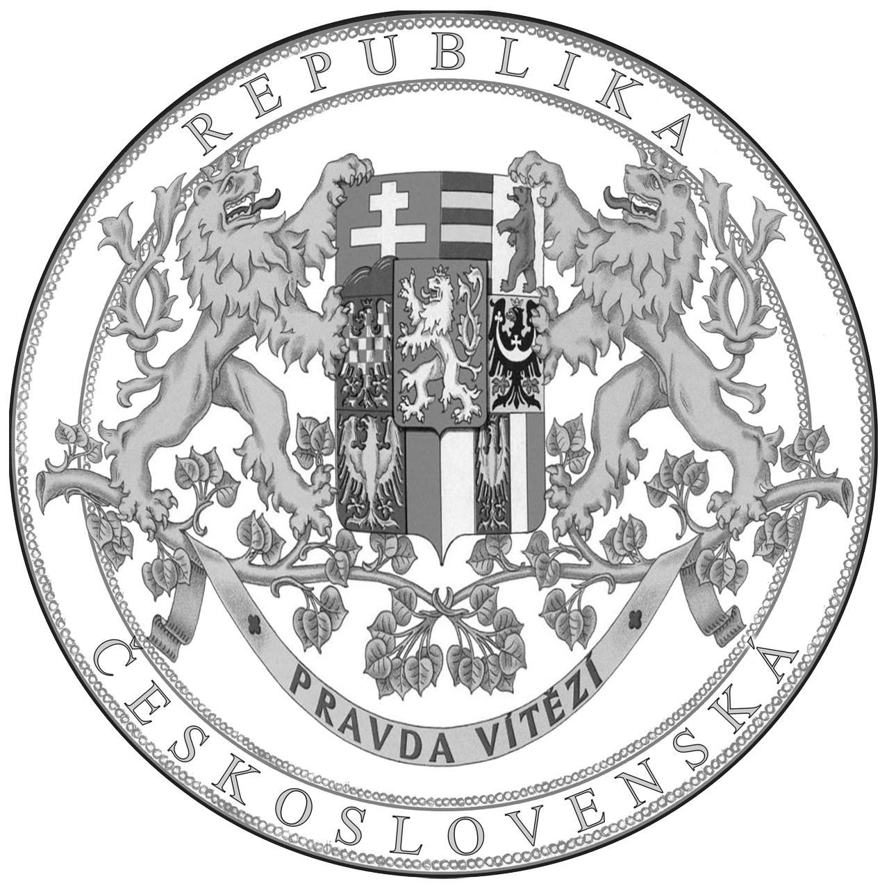 Návrh společného reversu všech pamětních medailích kolekce Historie Československa