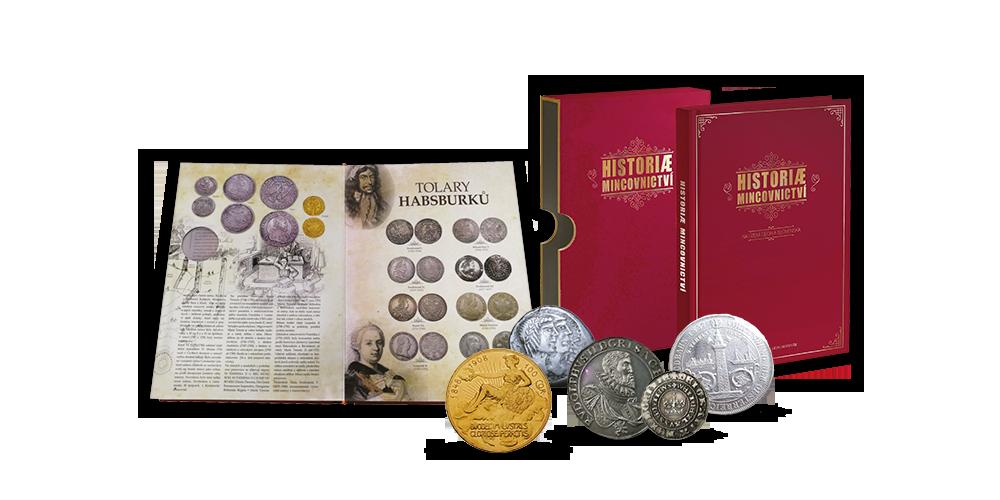 Kniha Historie mincovnictví
