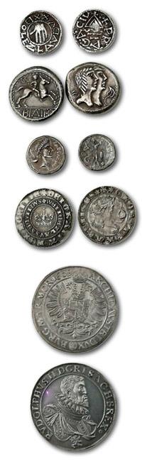 Sbírka replik historických platitel