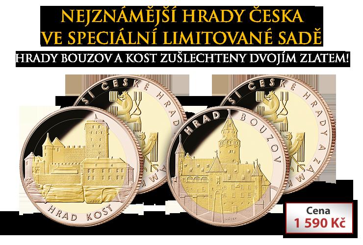 Hrad Kost a hrad Bouzov