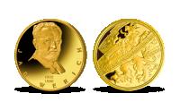 Jan Werich na zlaté medaili