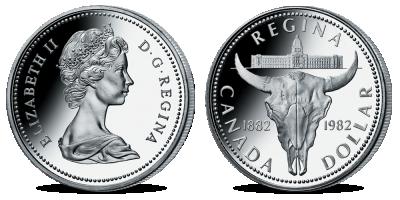 Kolekce: Oficiální kanadské dolary