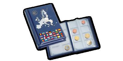 Kapesní album ROUTE Euro na 12 sad oběhových euromincí