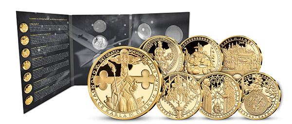 Další medaile v kolekci a luxusní album