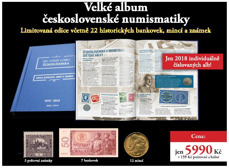 Album československé numismatiky