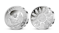 Apoštol sv. Petr na ražbě z ryzího stříbra 999/1000