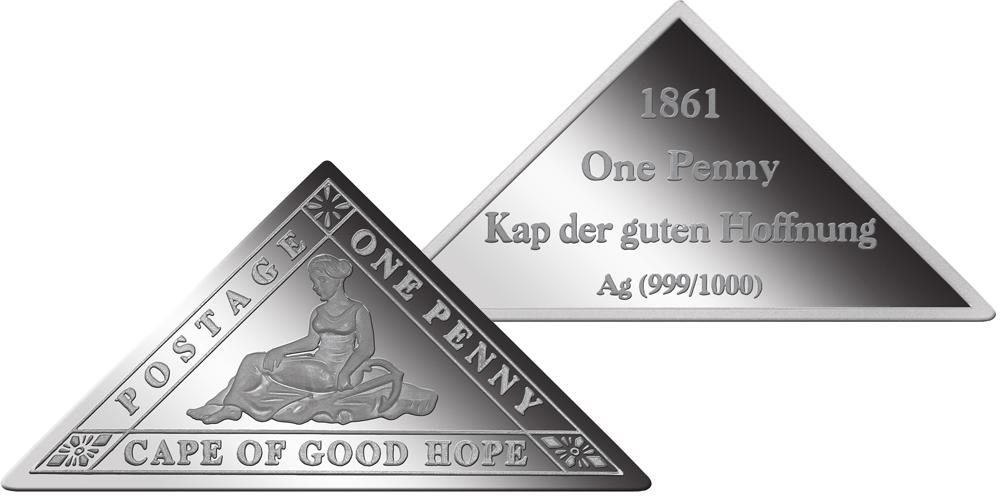 Stříbrné známky - Mys Dobré Naděje