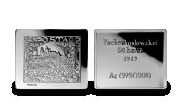 Stříbrné známky - Hradčany (Československo)