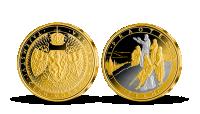 Praotec Čech zušlechtěný ryzím zlatem a vzácnou platinou