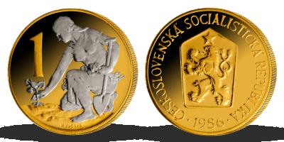 Nejoblíbenější československé mince