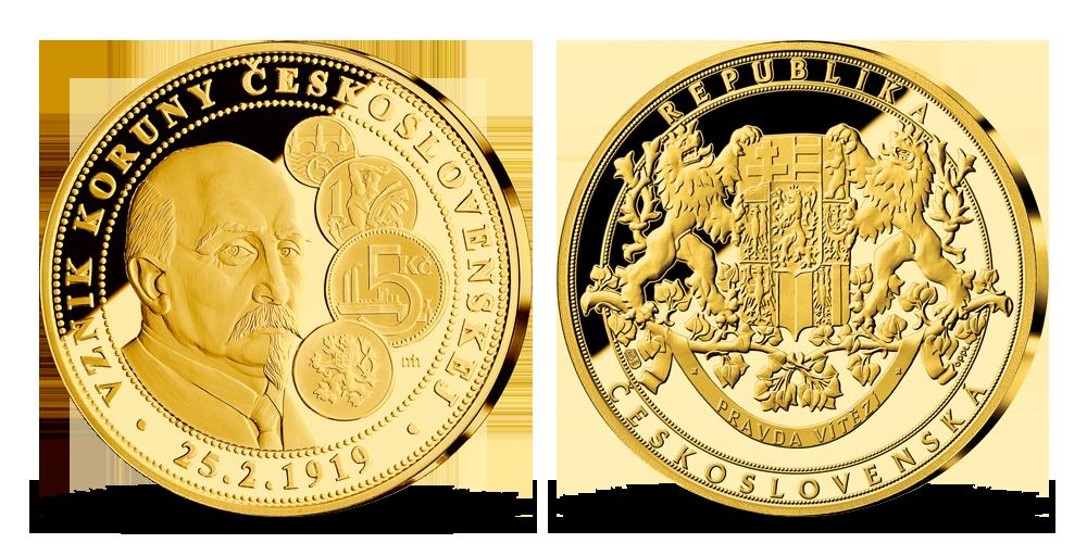 Vznik koruny československé
