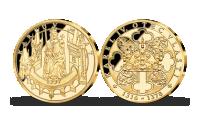 Karlův most zušlechtěn ryzím zlatem