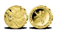Překrásná secesní díla zušlechtěna ryzím zlatem