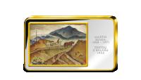 Martin Benka, Cesta na salaš - Kolorovaná medaile zušlechtěná ryzím zlatem