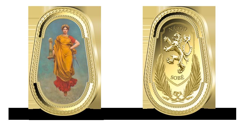 Pamětní medaile Múza architektury