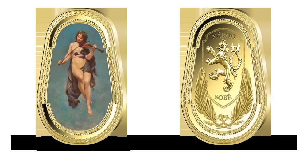 Pamětní medaile Múza hudby