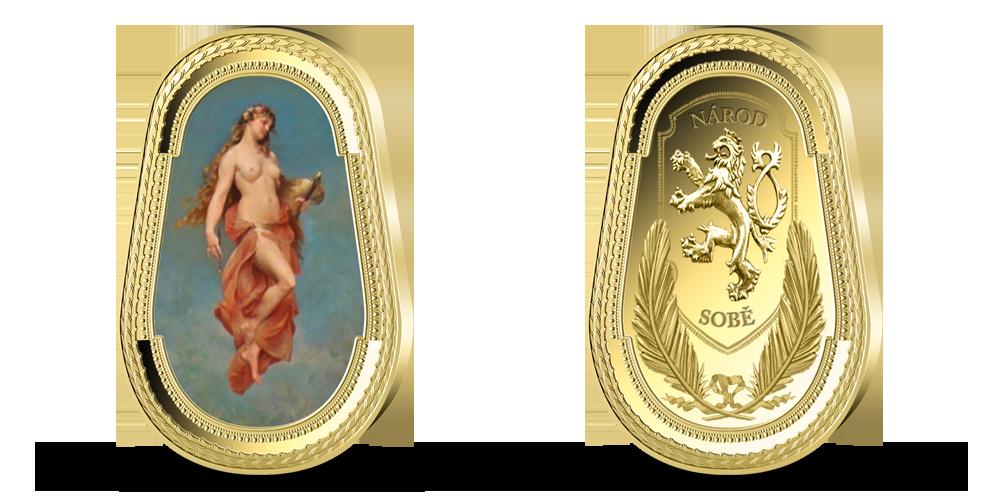 Pamětní medaile Múza malířství