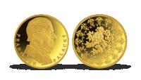 Pozlacená pamětní medaile - Františk Palacký