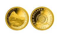 Zlatá mince Machu Picchu