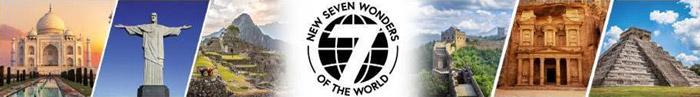 Kolekce 7 nových divů světa